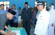 Plt Bupati Subang Lantik Kades Terpilih di Kecamatan Pagaden dan Tambakdahan