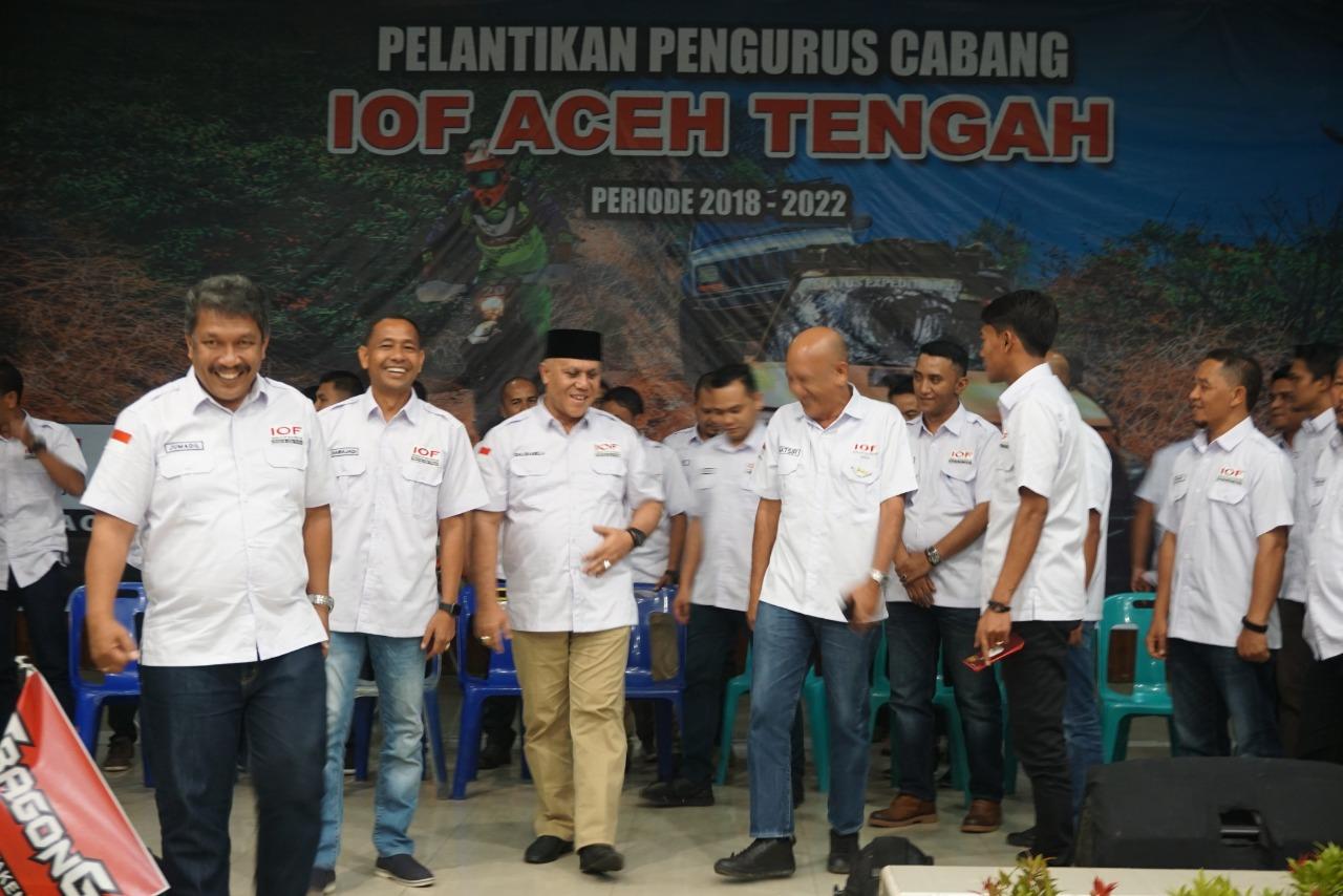 Pengurus Baru IOF Aceh Tengah Diminta Siapkan Event Lokal dan Nasional