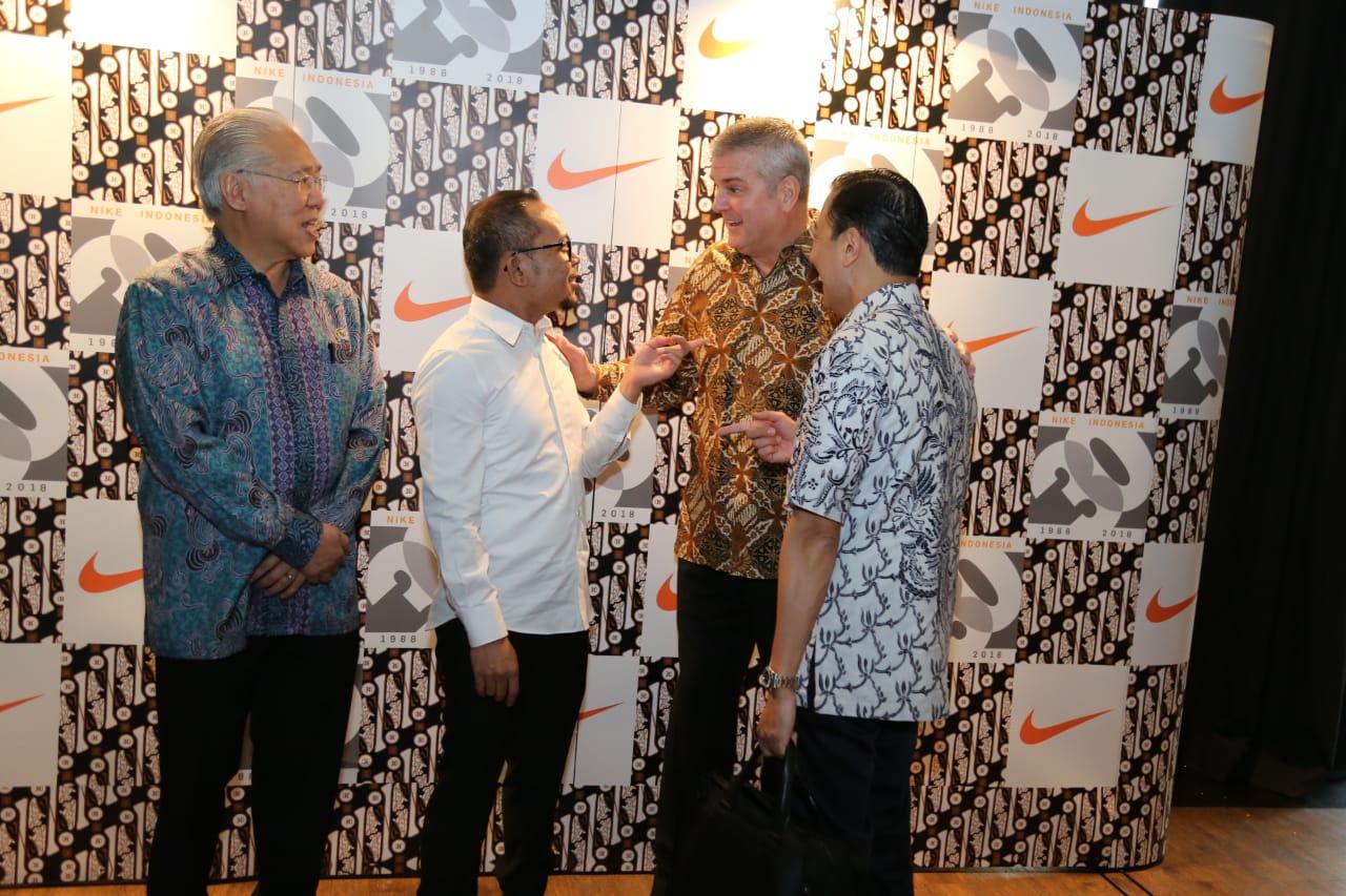 Menaker Apresiasi Eksistensi Nike Selama 30 Tahun