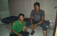 Nekat Nyabu di Belakang Kantor Satpolairud, Dua Pemuda Diringkus Polisi