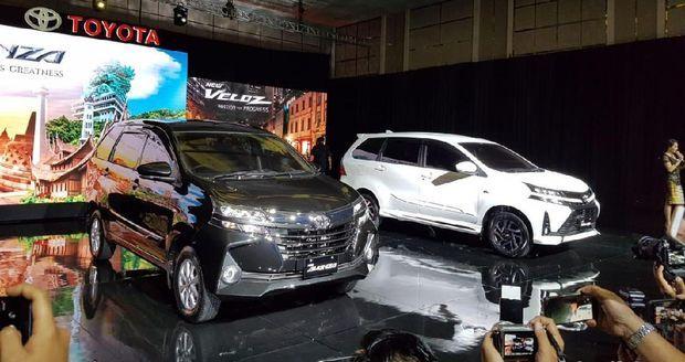 Toyota New Avanza 2019 Resmi Mengaspal, Begini Tampangnya