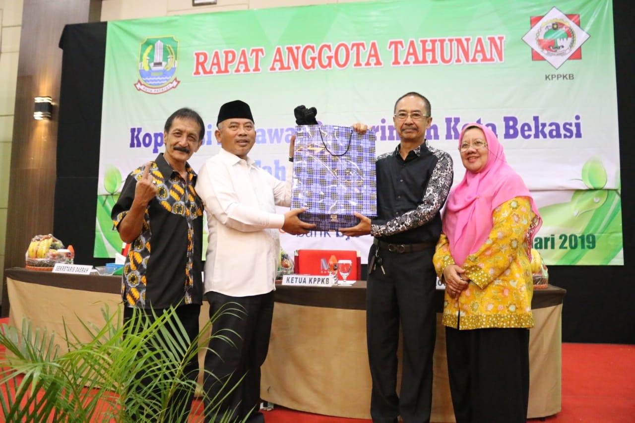 RAT Ke-3, Koperasi Pegawai Pemkota Bekasi Siap Bagikan SHU untuk Anggota