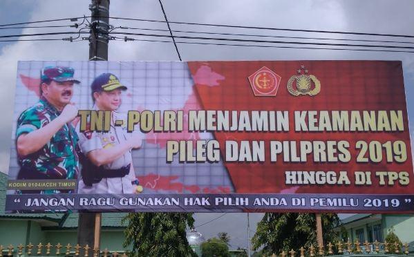 TNI-POLRI Menjamin Keamanan Pileg dan Pilpres 2019 Hingga di TPS