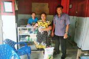 Polres Tebing Tinggi Pantau Pendistribusian Bantuan PKH dan BPNT