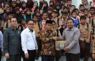 Puluhan Murid Kelas V SD IT Purwakarta Kunjungan Belajar ke DPRD