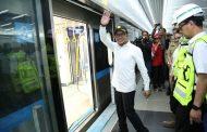 Periksa Aspek K3, Menaker Hanif Jajal Mass Rapid Transit Jakarta