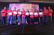 mBanking Telkomsel Berikan Award Kepada Mitra Bank
