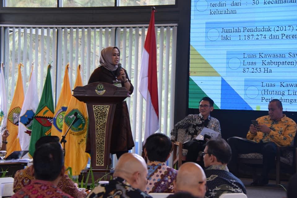 Bupati Cellica Paparkan Program Kerja Dihadapan Gubernur Jawa Barat