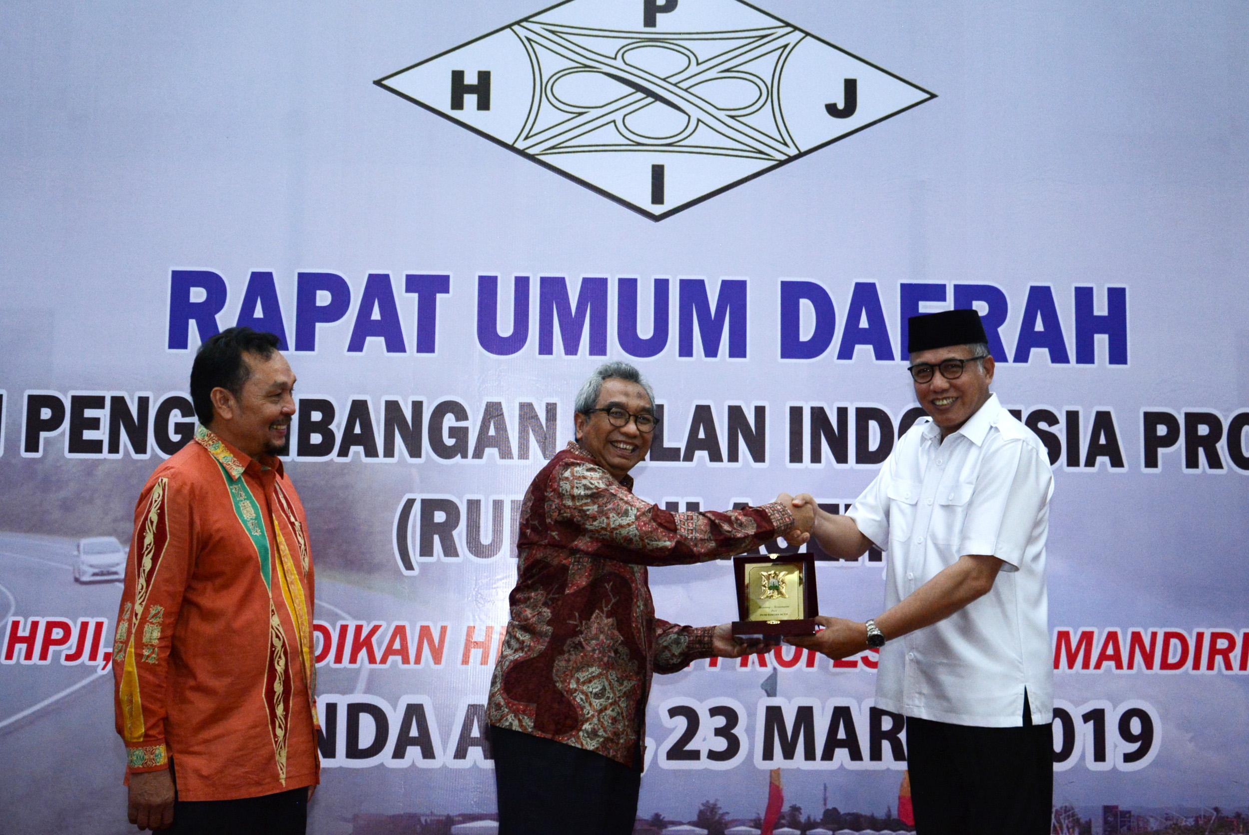 Pemprov Aceh Andalkan HPJI untuk Pembangunan Infrastruktur
