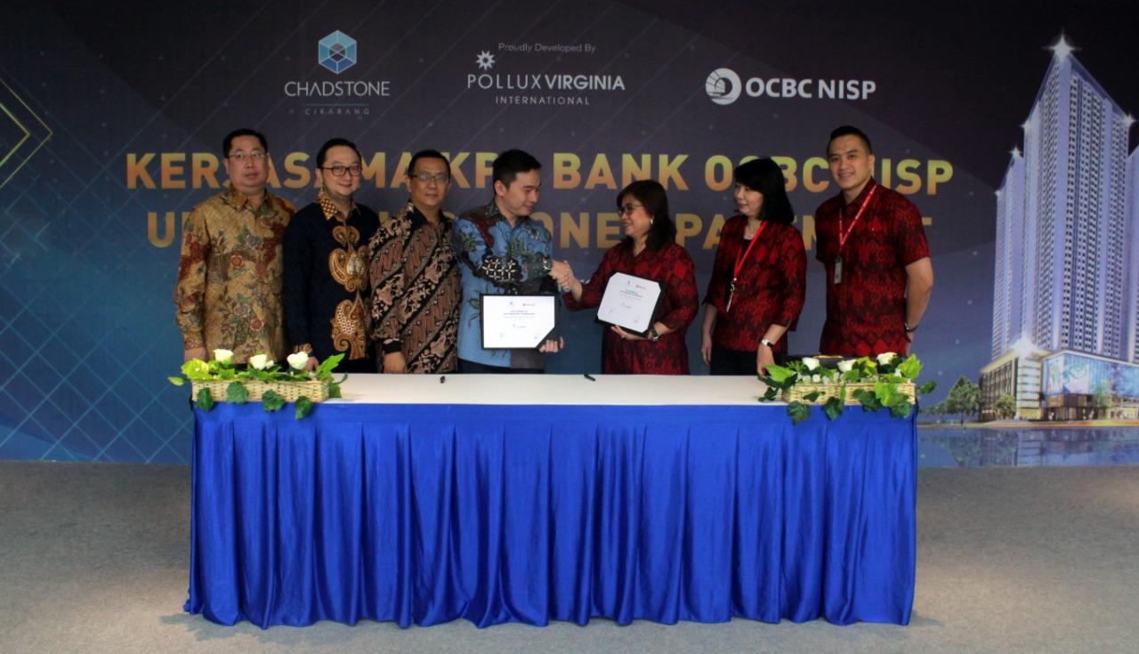 Apartemen Chadstone Cikarang Gandeng Bank OCBC NISP Fasilitasi Pembiayaan KPA