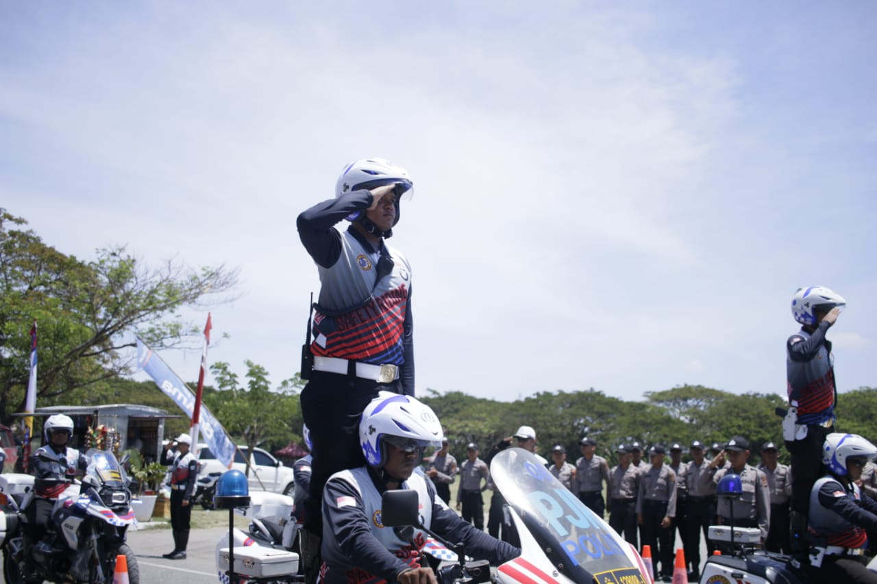 3.000 Generasi Millenial Polda Aceh Konvoi Riding Milenial Road Safety Festival