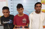 Diduga Miliki Sabu, Tiga Pria Ditangkap Satresnarkoba Polres Aceh Utara