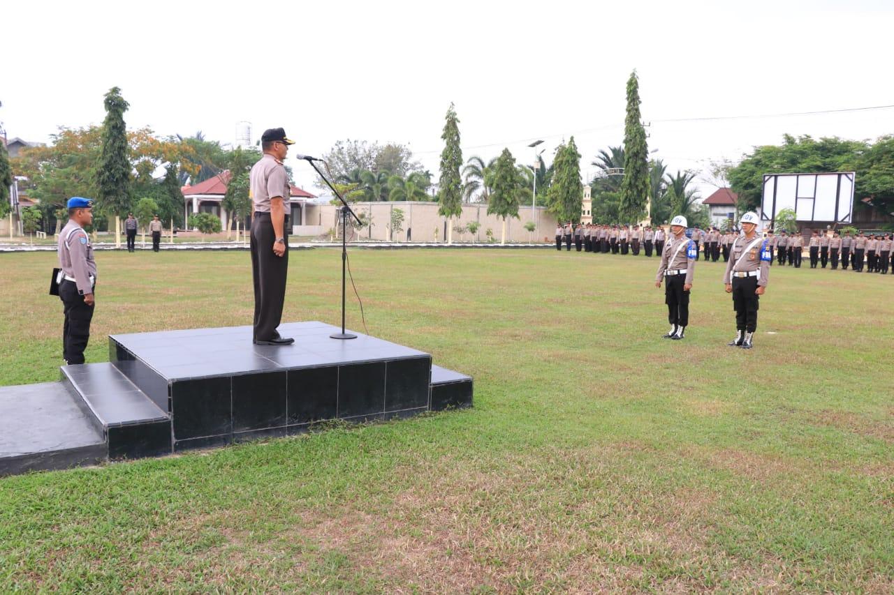Anggota Polres Aceh Utara Dipecat dengan Tidak Hormat
