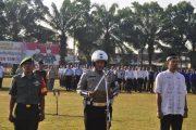 Pengamanan Pemilu 2019, Polres Tebing Tinggi Gelar Apel Pasukan Ops Mantap Brata Toba