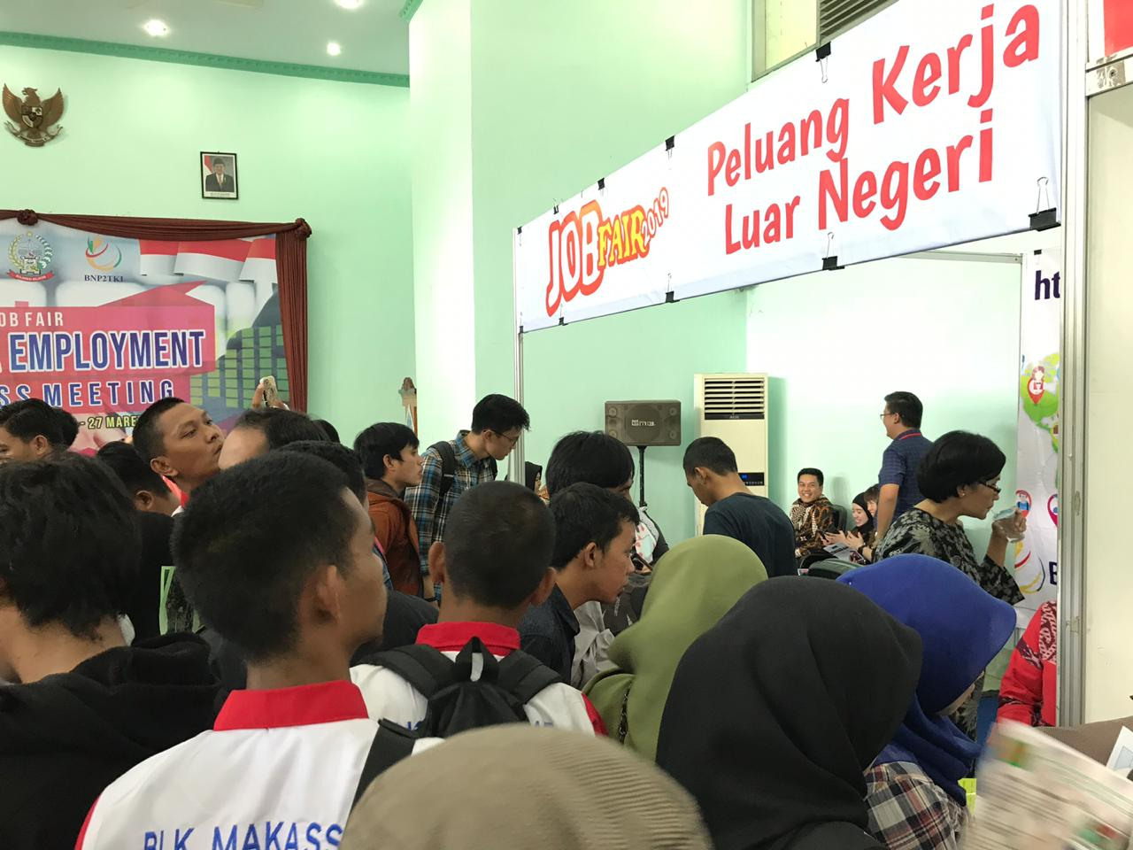 BLK Makassar Fasilitasi Job Fair KJRI Kuching