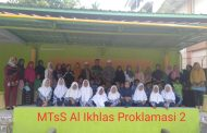 Pembinaan Wawasan Kebangsaan:  MTsS Al Ikhlas Proklamasi 2 dikunjungi Koramil 0404