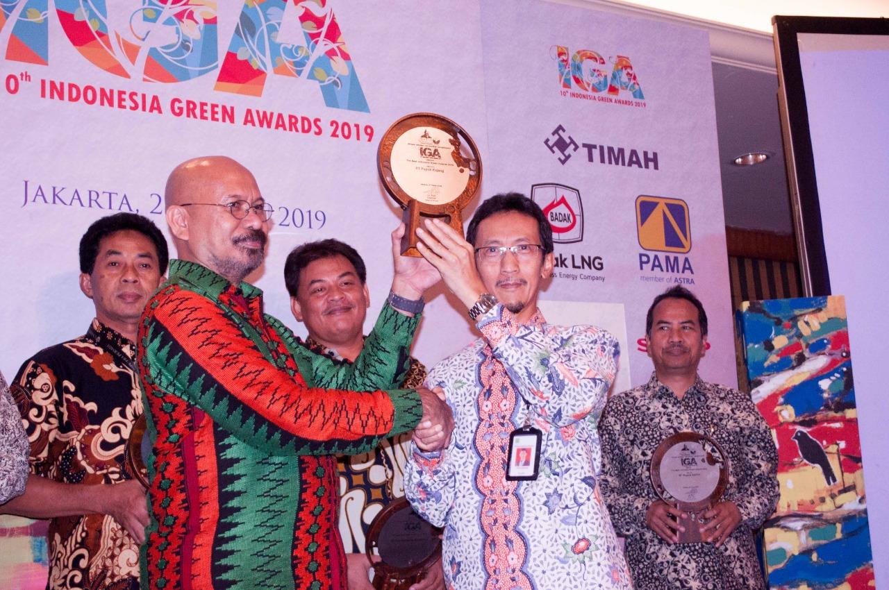 PT Pupuk Kujang Sabet 7 Penghargaan Indonesian Green Award 2019