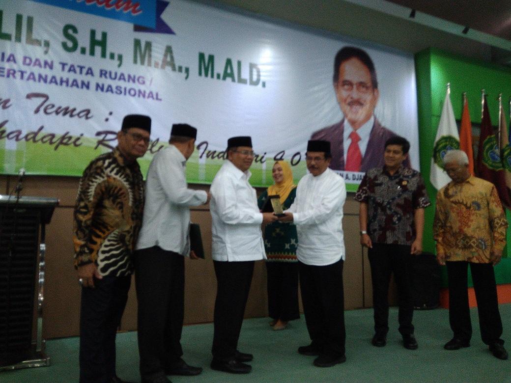 Menteri ATR /BPN RI : Mahasiswa Harus Bisa Menangkal Berita Hoax