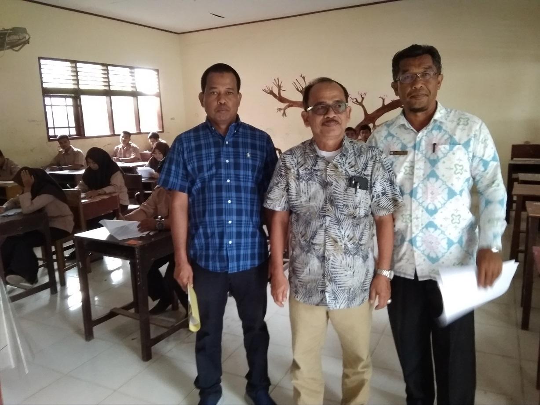 Dinas Pendidikan Aceh Pantau USBN SMAN 2 Peusangan Matanggelumpangdua