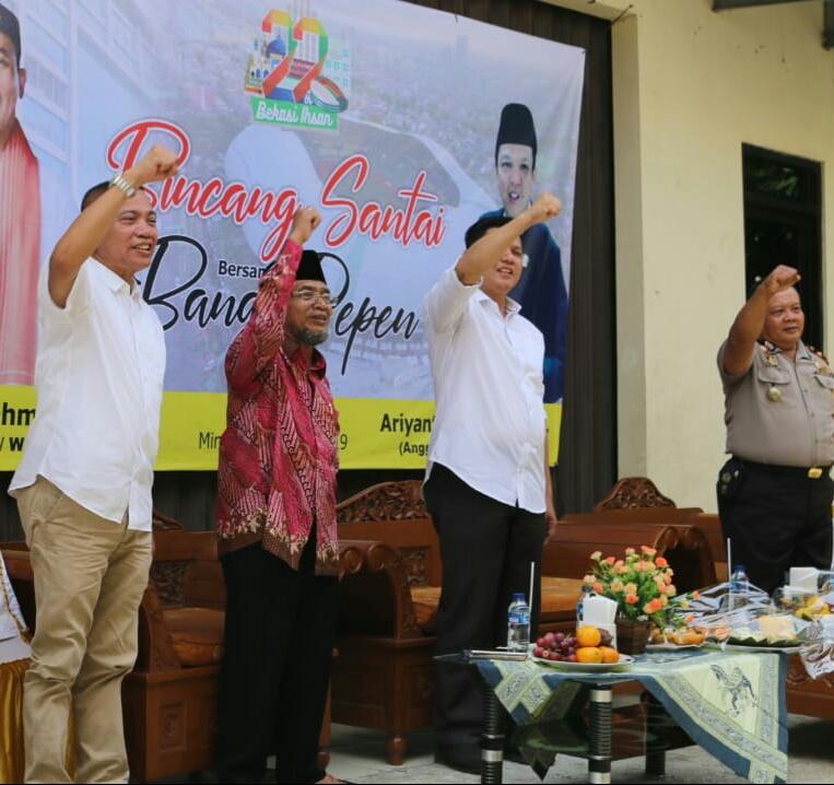 Disisa Jabatannya Sebagai Wakil Rakyat, Ariyanto Ingin Membantu Warga Bekasi Barat