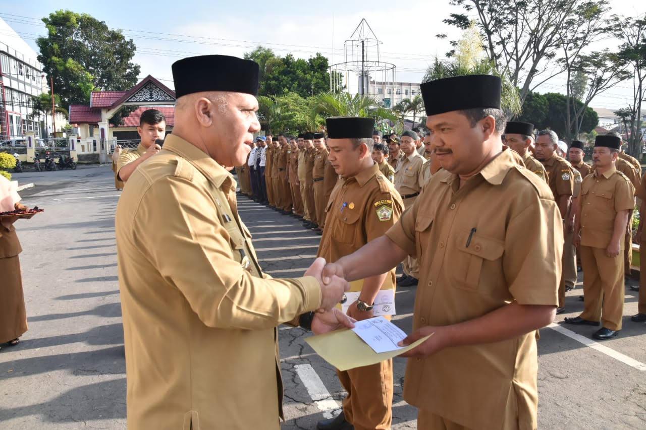414 ASN Aceh Tengah Terima SK Kenaikan Pangkat