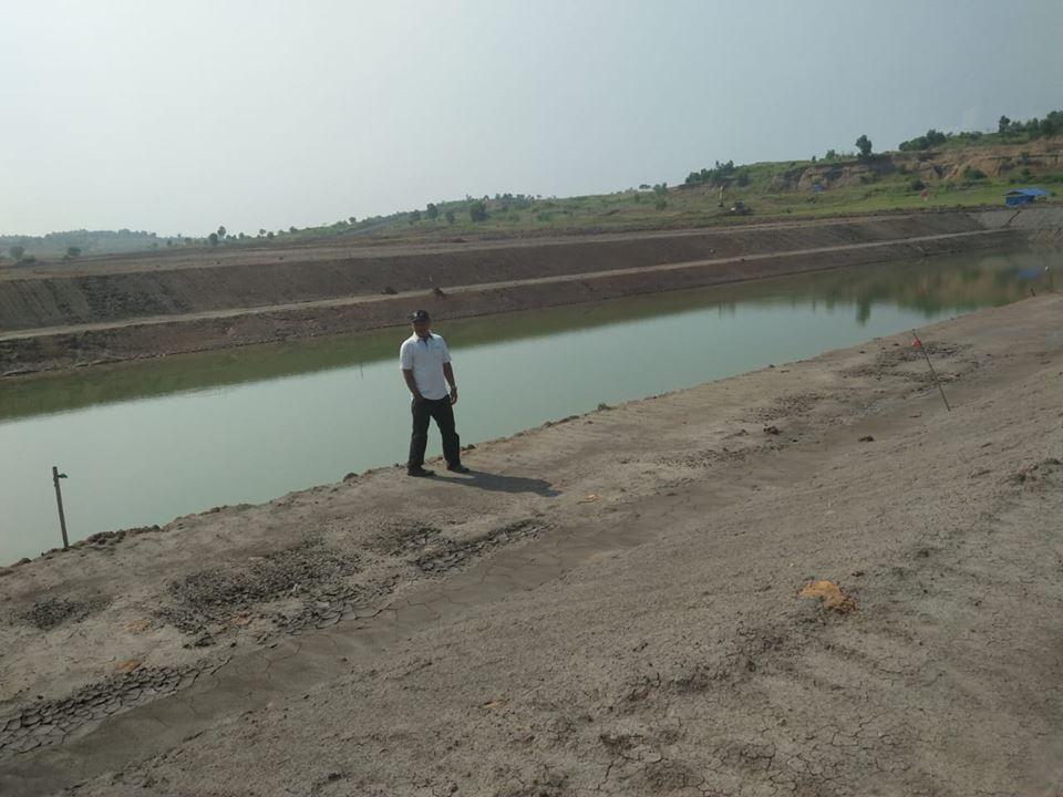 Pemerintah Desa Wanajaya Bangun Objek Wisata Danau