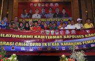 Muspida, Parpol dan Caleg di Karawang Deklarasikan Pemilu Damai