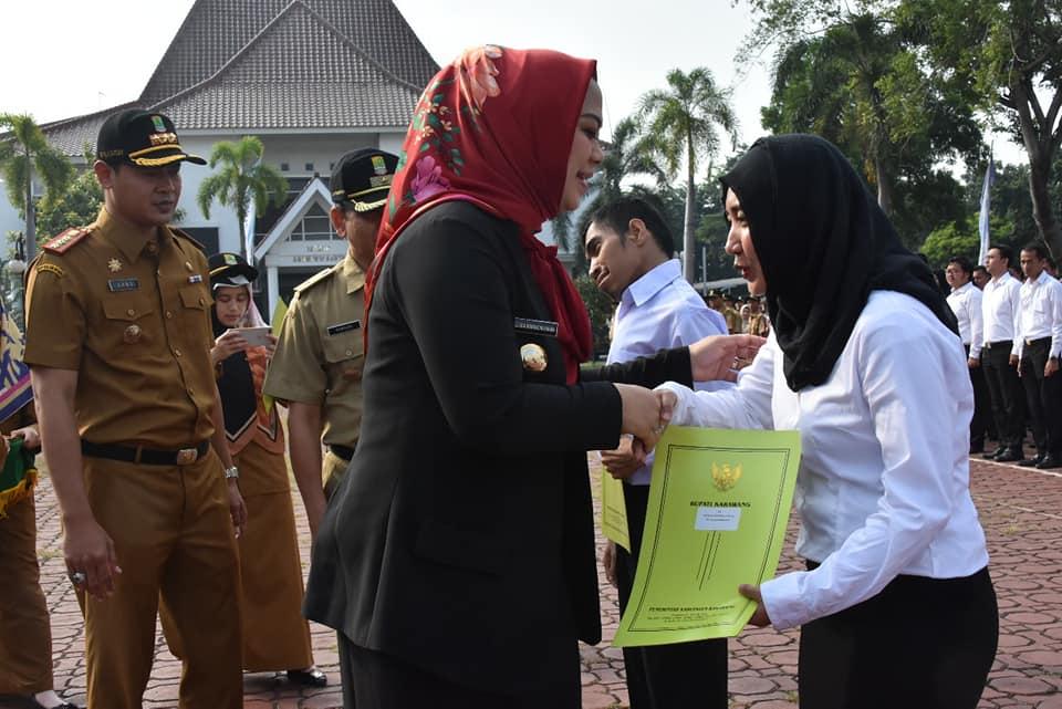 Alhamdulillah, 349 CPNS Terima SK dari Bupati Karawang