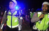 Datang Saat Sahur, Begini Cara Polres Aceh Utara Kampanye Tertib Lalulintas