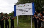 PT PHE NSB Resmikan 10 KM Jalan Lintas Cluster dan Khitan 100 Anak Yatim