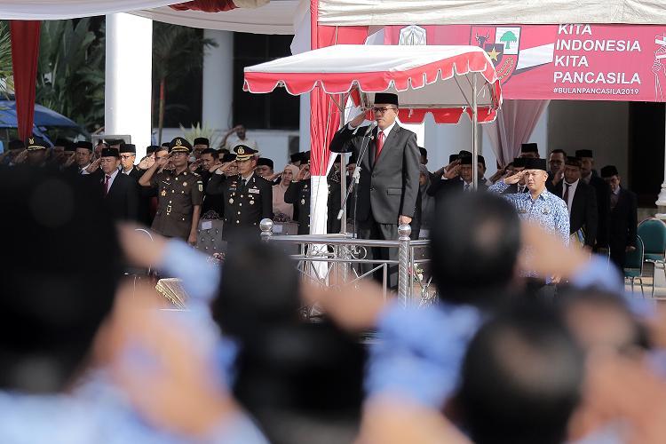 Plt Gubernur Aceh Ajak Masyarakat Konsisten Realisasikan Pancasila