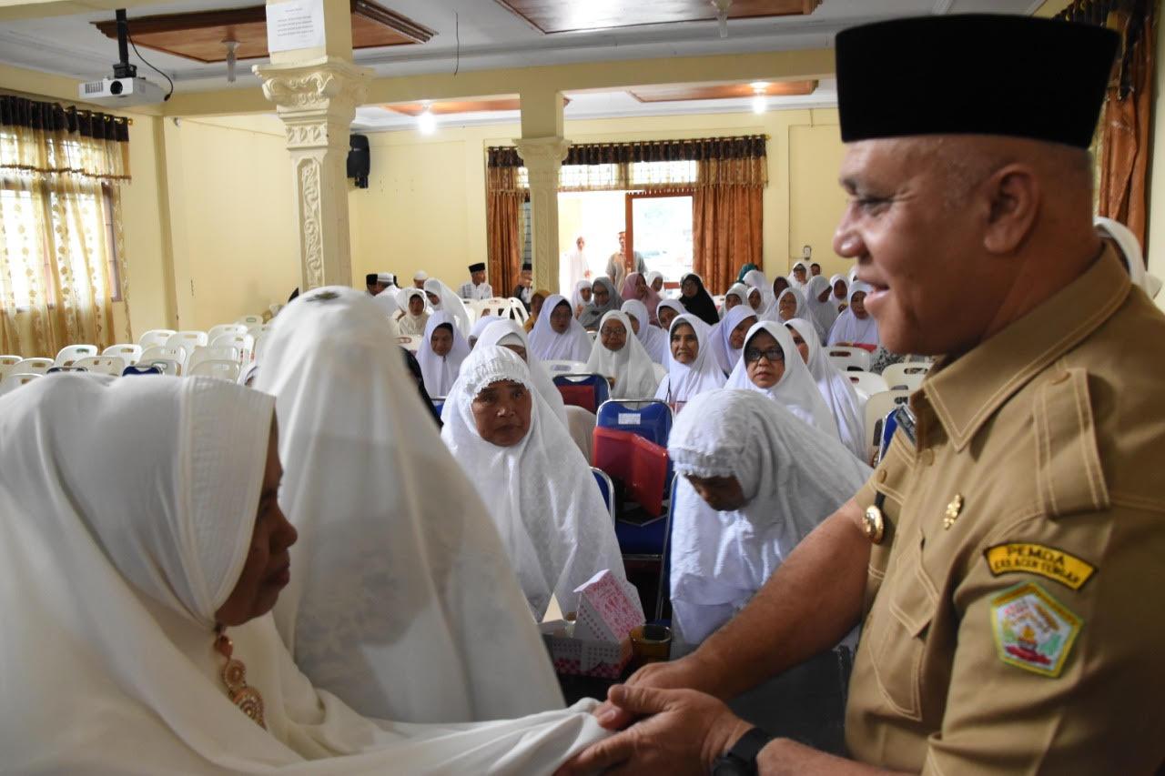 Calon Jamaah Haji Aceh Tengah Ikuti Manasik