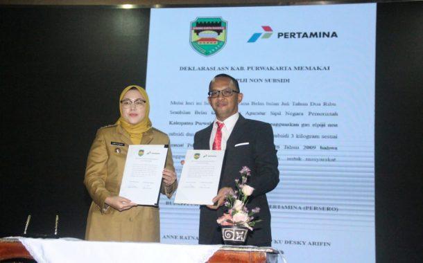 Pemkab Purwakarta Larang ASN Purwakarta Gunakan Gas Melon