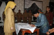 Bupati Anne Lantik 3 PAW Kepala Desa di Bale Nagri