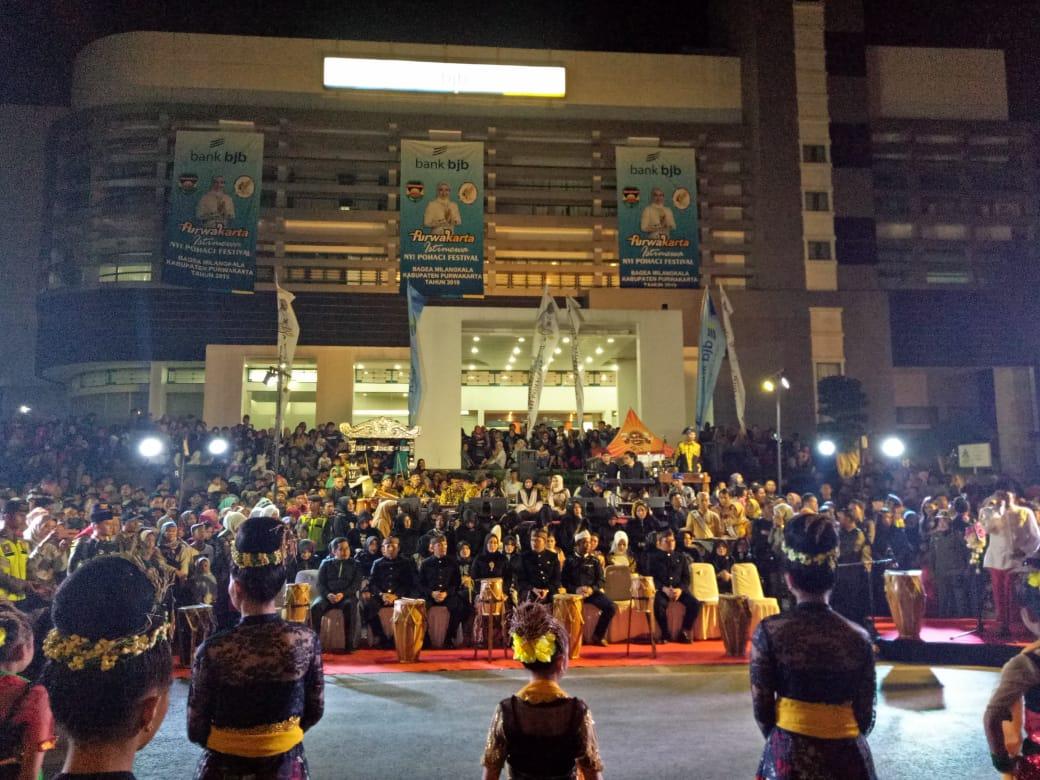 1000 Penari Jaipong dan Putu Gratis Meriahkan Festival Kuliner Nyi Pohaci