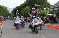 Atraksi Motor Polantas Polda Aceh Meriahkan Police Expo 3