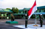 Dandim 0104 Aceh Timur Pupuk Jiwa Kejuangan Prajurit Lewat Upacara