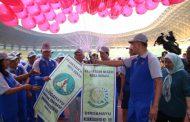HUT Adhyaksa ke 59 Kejari Kota Bekasi Dimeriahkan dengan Senam Sparko dan Pekan Olahraga