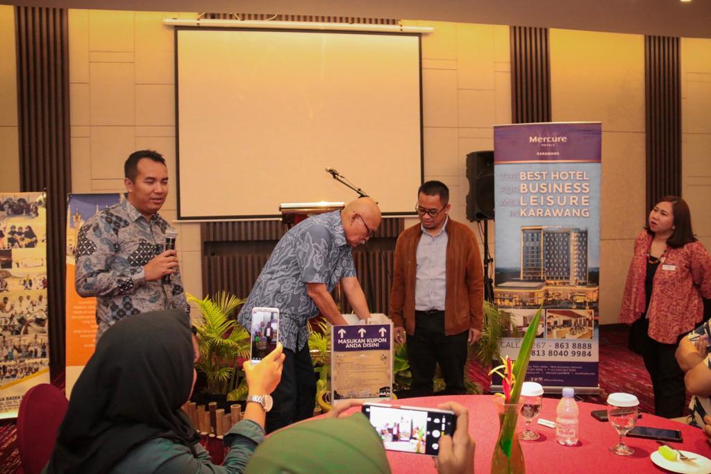 Hadiah Umroh Gratis untuk Dua Orang dari Mercure Hotel Karawang