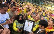 Sekretariat DPRD Kota Bekasi Apresiasi Senam Sparko Raih Rekor MURI 40 Ribu Peserta