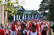 Ribuan Warga Ikuti Jalan Santai BUMN dan Pemkab Purwakarta