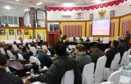 APBK Perubahan 2019 Disahkan Melalui Paripurna Terakhir DPRK Periode 2014 - 2019