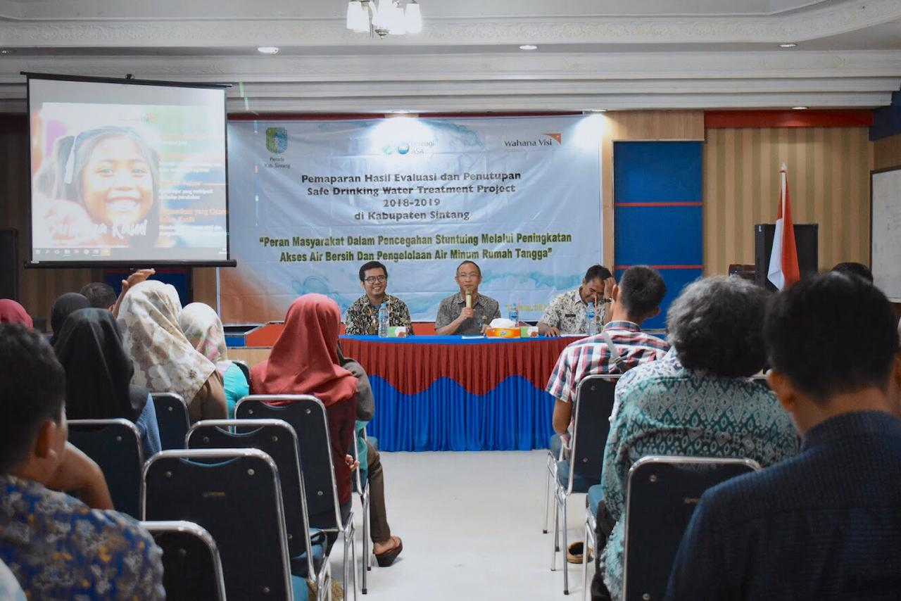 Kadis Kesehatan Sintang : Warga Melawi dan Sintang Mayoritas Gunakan Air Hujan
