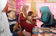 Dyah Erti Luncurkan Rumoh Gizi di Pedalaman Aceh Timur