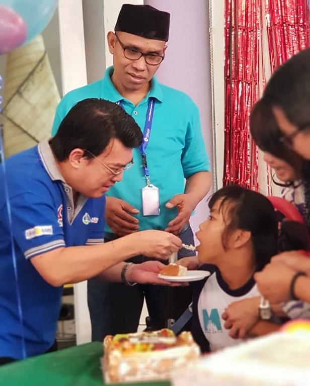 OHM Rayakan Keceriaan HUT ke-6 Bersama Anak Yayasan Sayap Ibu
