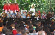 Jokowi Serahkan SK Penetapan Hutan Adat ke Masyarakat Kabupaten Landak
