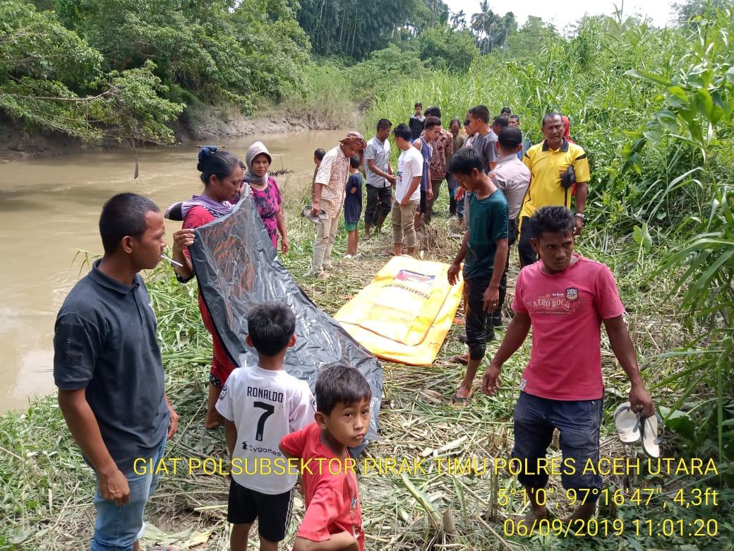 Warga Temukan Mayat Perempuan di Sungai Pirak Timu