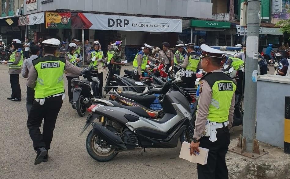Polres Bireuen Tilang 784 Pengendara karena Melanggar Lalulintas