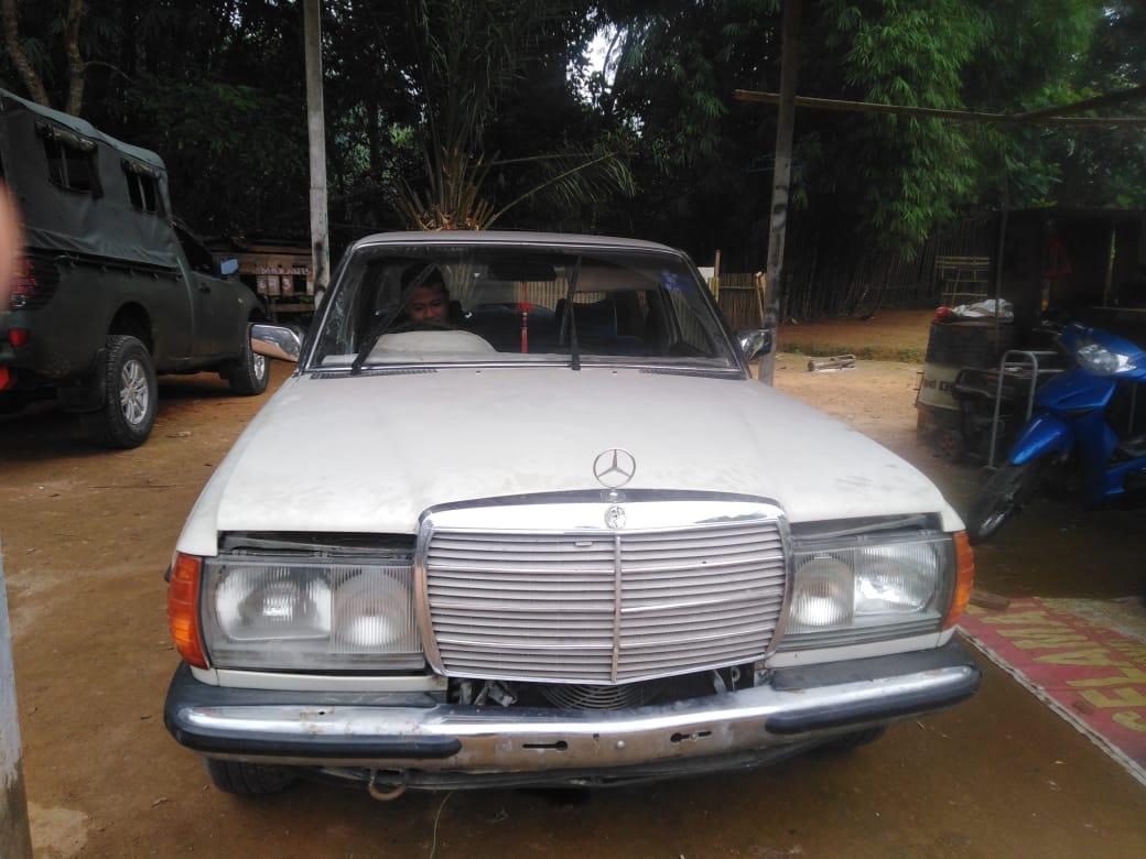 Satgas Pamtas Yonmek 643 Wanara Sakti Gagalkan Penyeludupan Mercedes Benz Asal Malaysia