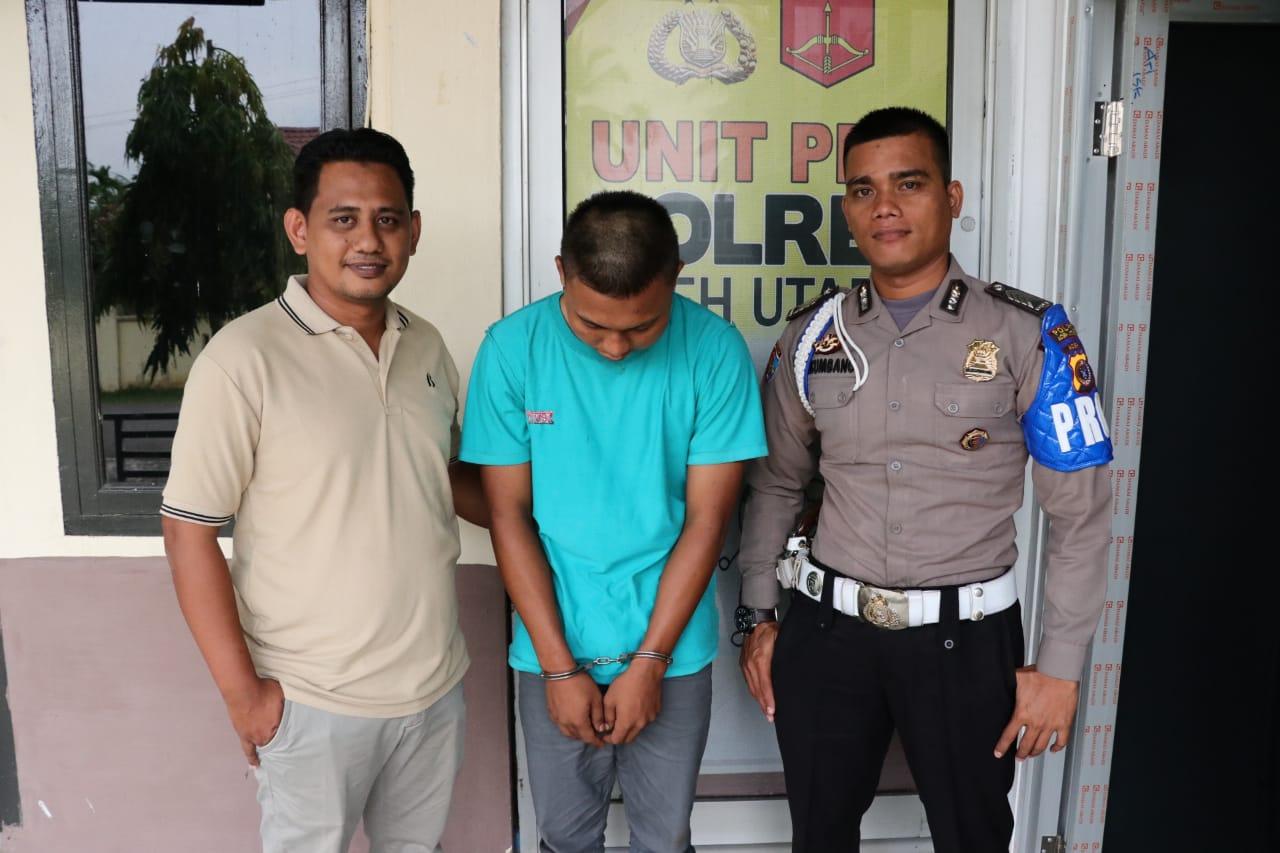 Polres Aceh Utara Tangkap Pelaku Pencabulan Anak Dibawah Umur